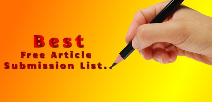 Top 70+ High DA & PR Article Submission Sites List